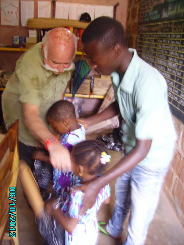 Distribution aux familles